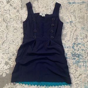 Moulinette Soeurs Navy Dress